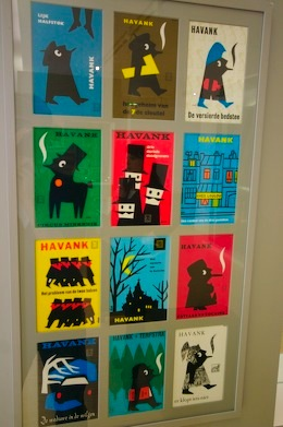 A collection of graphic design by Dick Bruna for Havank