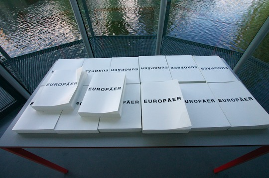 collection of white books