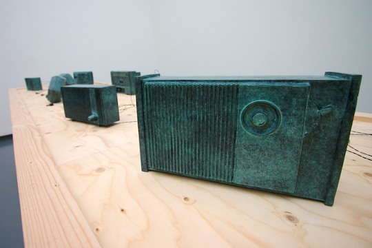 Radios carved from stone