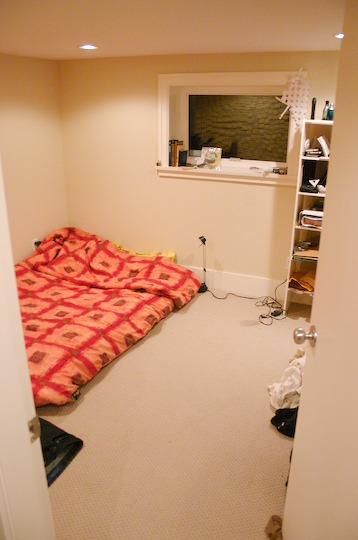 One Of The Rooms For Rent With Included Matress. There Is Also A Small Set  Of Shelves And A Corner Table In There. Plus, Itu0027s Got The Largest Closet  In The ...