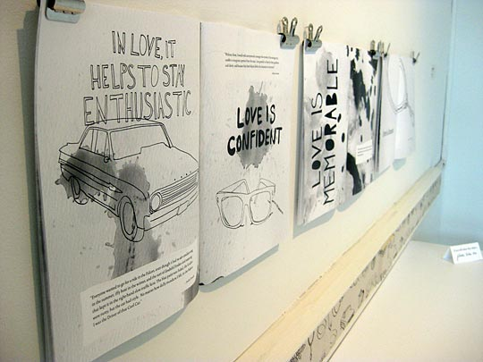 drawings on paper