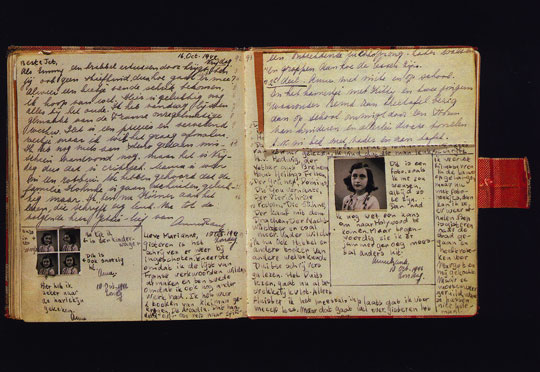 a journal entry in the diary of anne frank Anne frank was a teenager who is now known the world over for her  set of  diary entries, and version b is anne's reworking of the material as.