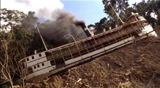 Film still from Fitzcarraldo