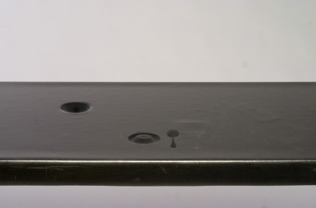 Detail of table in response mode.