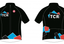Jersey application, front and reverse.