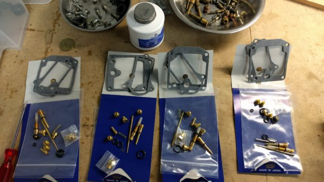 KZ650 Intermediate Carb kit